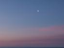 Mond über dem Morgenrot