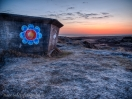 Bunker zur blauen Stunde 1